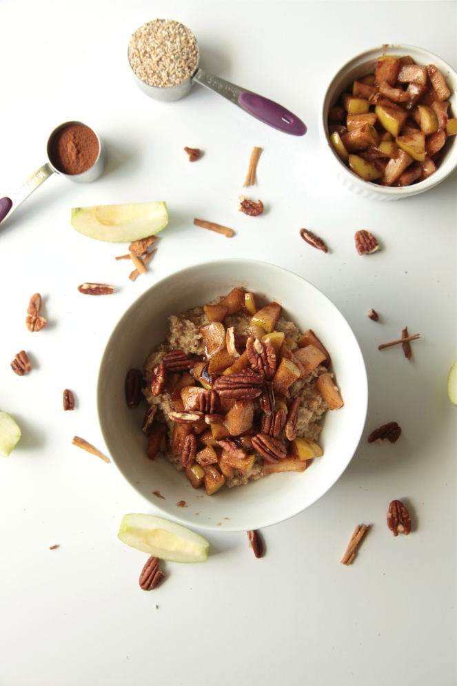 Apple Pie Oats (Vegan + Gluten Free) - Modern Little Victories