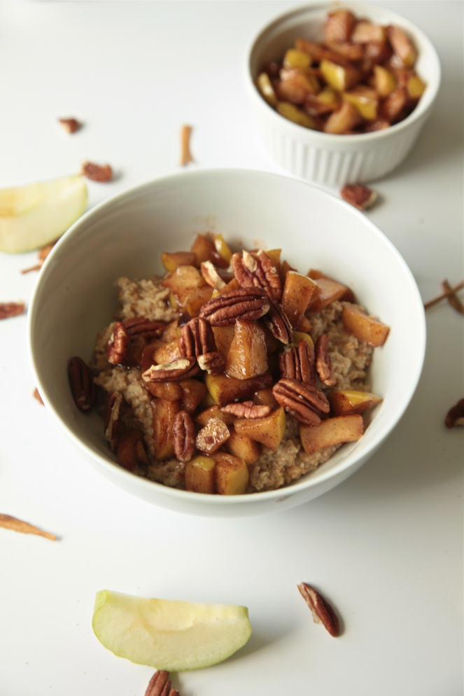 IMG_0153Apple Pie Oats (Vegan + Gluten Free) - Modern Little Victories