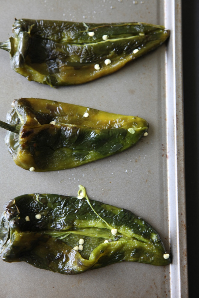 Turkey Stuffed Poblano Peppers - Modern Little Victories