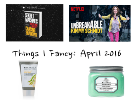 Things I Fancy: April 2016 - Modern Little Victories